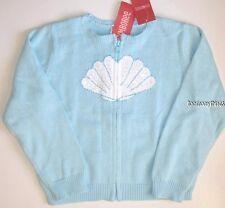 Gymboree Mermaid Magic Sweater Size 5-6 New Blue Sequins Seashell Summer Girls