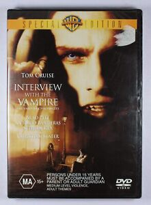 Interview With The Vampire DVD Special Edition NEW FREE POST