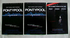 3 PONTYPOOL  Postcards  Stephen McHattie Bruce McDonald Tony Burgess zombie