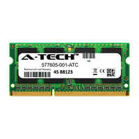 2GB DDR3 PC3-10600 1333MHz SODIMM (HP 577605-001 Equivalent) Memory RAM
