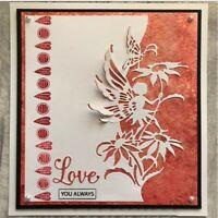 Stanzschablone Engel Fee Blume Weihnachten Hochzeit Oster Geburstag Karte Album