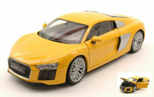 Model Car Scale 1:18 Welly Audi R8 V10 diecast vehicles road Modell