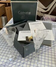 WATERFORD Crystal Celebration Love Toasting Flutes First Edition New In Box