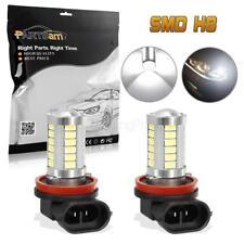 2PCS H8 H11 Fog Driving Light Super Power LED Projector Lens White for Acura