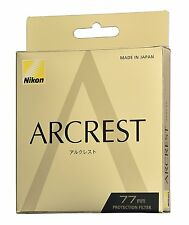 Brand New Unused Nikon Arcrest Protection Filter 77mm AR Coat NC Protector
