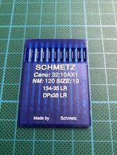 10 Aiguilles Schmetz Taille 120/19 Machine à Coudre Industrielle Spécial Cuir
