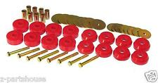 UNIVERSAL Polyurethane Body to Frame Mount Bushing Set (8 Location) RED