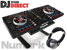 NUMARK MIXTRACK PLATINUM DJ Controller+ NUMARK LAPTOP STAND + FREE HEADPHONES