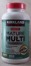 jlim410: Kirkland Signature Mature Multi Adults 50+, 400 Tablets cod/paypal