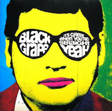 BLACK GRAPE It's Great When You're Straight... Yeah 2016 remastered CD album NEW