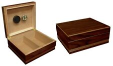 Prestige Import Group Duke Humidor with Routed Design & Walnut Finish