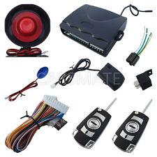 One Way Auto Alarm System With Four Buttons Remote Control Suitable For All Cars