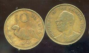 GAMBIE  10 bututs   1971
