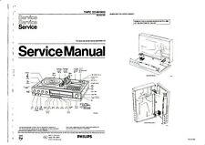 Service Manual-Anleitung für Philips 22 AH 903