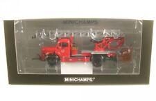 1 43 Minichamps Mercedes L3500 Dl17 Fire Engine Bensheim 1950 red