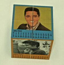 "Magic Cube ELVIS PRESLEY 2002 CALENDAR Rubics ??  2 3/4 X 2 3/4 X 2 3/4"""