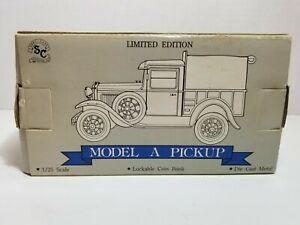 SpecCast Ford Model A Pickup Texaco Petroleum Truck Bank 1/25 Scale
