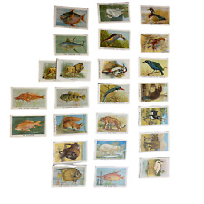 More details for cigarette cards - birds, beasts and fishes (wills/new zealand issue) - 24 cards
