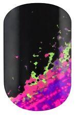 Elegant Touch Nail Envy 24 Designer Wraps  Acid Graffiti FREE P&P