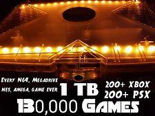 Increíble iluminado Crystal XBOX 1 Terabyte ☆ 130,000 Juegos ☆ 200+ XBOX Juegos ☆ ☆ aplicaciones