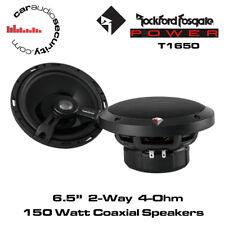 """Rockford Fosgate T1650 - Power Series 6.5"""" 2-Way Full Range Coaxial Speaker 150W"""