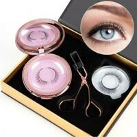 3 pairs Magnetic Eyelash Makeup Tool False Partner Set Curler Clip Quantum Kit