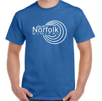 Alan partridge T-Shirt Mens North Norfolk Digital Logo Funny Unisex Top