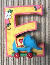 "Mary Engelbreit Resin Alphabet Letter ""E� Elephant"