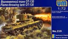 Unimodel 1/72 Russe OT-130 Lance-flammes Tank # 219