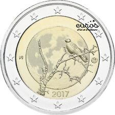 Pièce 2 euros commémorative FINLANDE 2017 - La Nature Finlandaise - Qualité UNC