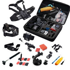 30 IN 1 Head Chest Mount Floating Monopod Accessories Kit For Gopro 2 3 4 Camera