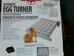 Automatic Egg Turner With additional Quail Rails for little giant incubator