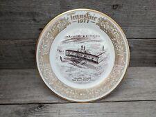 Vintage 1977 Lenox Transfair Commemorative Plate Wright Brothers
