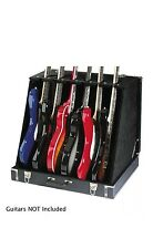 Stagg GDC-6 Guitar Stand Case (6 Electric or 3 Acoustic Guitars FREE P & P UK