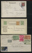 Iceland 1916 - 1950 - 5 Covers, Post Cards Destinations Incl. UK, USA Denmark