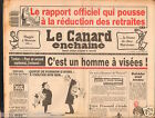 CANARD ENCHAINÉ Birthday Newspaper JOURNAL NAISSANCE 1 AVRIL APRIL 1987