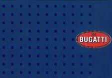 2003 BUGATTI VEYRON 16.4 PRESTIGE PRESSKIT PRESSEMAPPE PRENSA ENGLISCHE AUSGABE