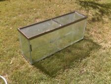 50 gallon used aquarium with metal stand and accessories