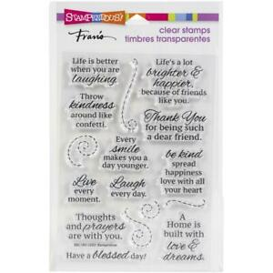 Stampendous Perfectly Clear Stamps - Laugh Every Day