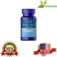 #1- RATED BEST HAIR SKIN NAILS FORMULA *w/ 3000mcg BIOTIN* GROWTH HEALTHY PILL