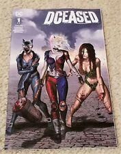 DCEASED 1 GREG HORN WALKING DEAD 19 HOMAGE VARIANT-A HARLEY QUINN BATMAN HOT!!