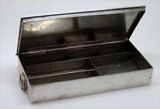 Boîte à plumes en métal argenté (James Dixon & Sons)