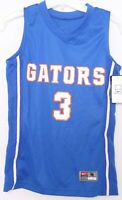 NEW Florida Gators 3 Nike Team Blue V-Neck Sleeveless Basketball Jersey Youth M