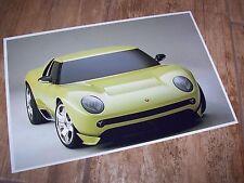 Photo de presse / Press Photograph LAMBORGHINI Miura Concept 2006 //
