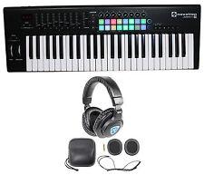 Novation LAUNCHKEY-49-MK2 49-Key USB MIDI Keyboard Controller + Headphones