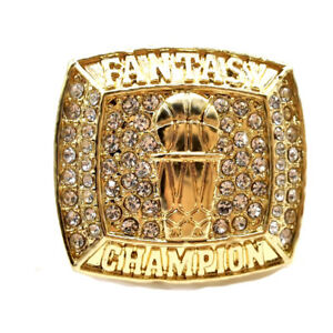2021 Fantasy Basketball Ring, Championship Ring, All Size Available : 7-14