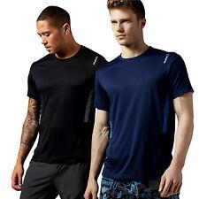Reebok Men's Short Sleeve Fitness Tops & Jerseys