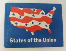 "VINTAGE/RARE ""States of the Union"" 1969 Shell Oil Company Booklet American Book"