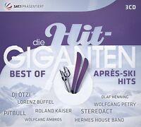 DIE HIT GIGANTEN BEST OF APRÈS SKI HITS (Schürzenjäger, Rednex uvm,) 3 CD NEU
