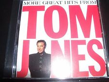Tom Jones More Great Hits From Very Best Of Greatest Hits (Australia) CD